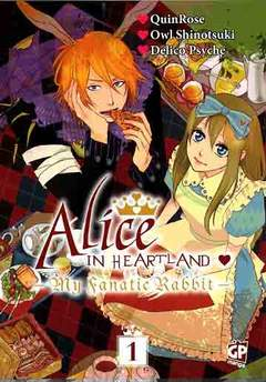 Copertina ALICE MY FANATIC RABBIT n.1 - ALICE: MY FANATIC RABBIT, GP PUBLISHING