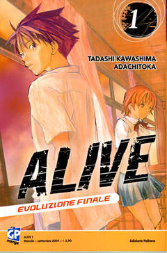 Copertina ALIVE FINAL EVOLUTION (m21) n.1 - ALIVE - FINAL EVOLUTION, GP PUBLISHING