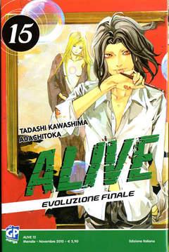 Copertina ALIVE FINAL EVOLUTION (m21) n.15 - ALIVE - EVOLUZIONE FINALE, GP PUBLISHING