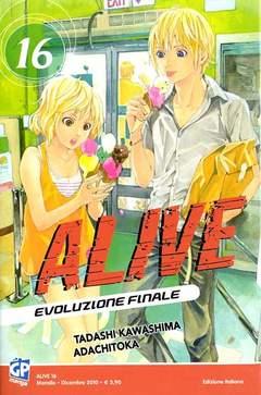 Copertina ALIVE FINAL EVOLUTION (m21) n.16 - ALIVE - EVOLUZIONE FINALE, GP PUBLISHING