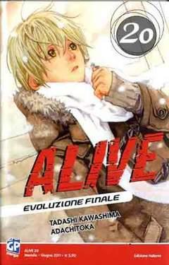 Copertina ALIVE FINAL EVOLUTION (m21) n.20 - ALIVE - EVOLUZIONE FINALE, GP PUBLISHING