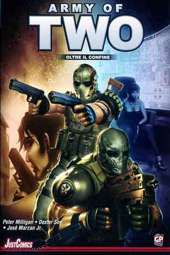 Copertina ARMY OF TWO n. - ARMY OF TWO, GP PUBLISHING