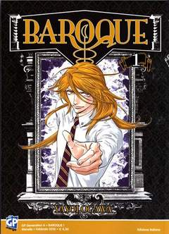 Copertina BAROQUE n.1 - BAROQUE, GP PUBLISHING