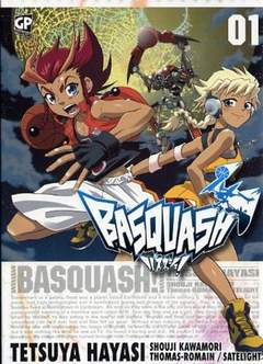 Copertina BASQUASH! n.1 - BASQUASH!, GP PUBLISHING