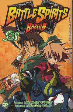 Copertina BATTLE SPIRITS BASHIN (m4) n.2 - BATTLE SPIRITS BASHIN, GP PUBLISHING