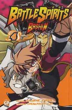 Copertina BATTLE SPIRITS BASHIN (m4) n.4 - BATTLE SPIRITS BASHIN, GP PUBLISHING