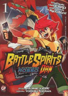 Copertina BATTLE SPIRITS DAN (m3) n.1 - GP ZODIAC, GP PUBLISHING