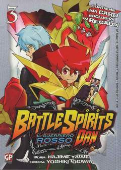 Copertina BATTLE SPIRITS DAN (m3) n.3 - GP ZODIAC, GP PUBLISHING