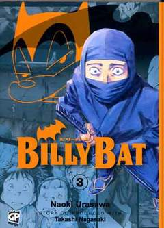 Copertina BILLY BAT n.3 - BILLY BAT, GP PUBLISHING