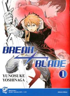Copertina BREAK BLADE n.1 - BREAK BLADE, GP PUBLISHING