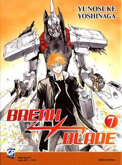 Copertina BREAK BLADE n.7 - BREAK BLADE, GP PUBLISHING