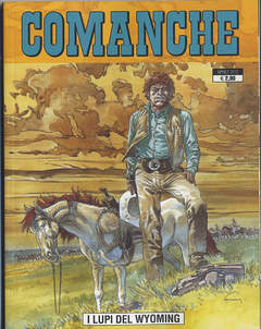 Copertina COMANCHE n.2 - I LUPI DEL WYOMING, GP PUBLISHING