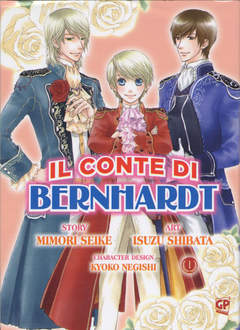 Copertina CONTE DI BERNHARDT (m6) n.1 - CONTE DI BERNHARDT 1, GP PUBLISHING