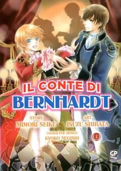 Copertina CONTE DI BERNHARDT (m6) n.4 - IL CONTE DI BERNHARDT, GP PUBLISHING