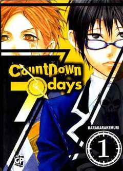 Copertina COUNTDOWN 7 DAYS (m4) n.1 - COUNTDOWN 7 DAYS, GP PUBLISHING