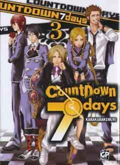 Copertina COUNTDOWN 7 DAYS (m4) n.3 - COUNTDOWN 7 DAYS, GP PUBLISHING