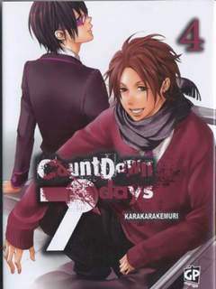 Copertina COUNTDOWN 7 DAYS (m4) n.4 - COUNTDOWN 7 DAYS, GP PUBLISHING