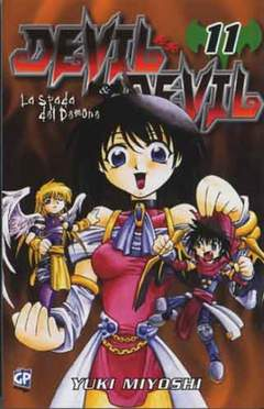 Copertina DEVIL & DEVIL (m15) n.11 - DEVIL & DEVIL, GP PUBLISHING