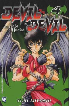 Copertina DEVIL & DEVIL (m15) n.4 - GP FICTION, GP PUBLISHING