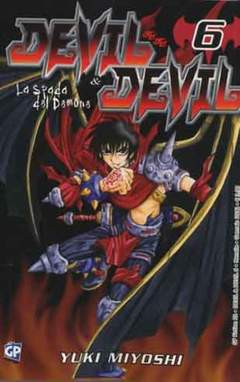 Copertina DEVIL & DEVIL (m15) n.6 - DEVIL & DEVIL, GP PUBLISHING