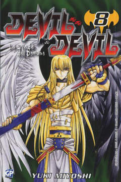 Copertina DEVIL & DEVIL (m15) n.8 - DEVIL & DEVIL, GP PUBLISHING