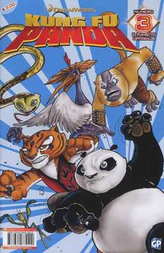 Copertina DREAMWORKS COMICS n.12 - KUNG FU PANDA 3, GP PUBLISHING