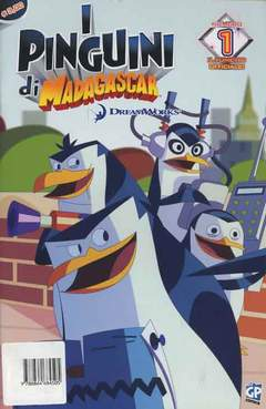 Copertina DREAMWORKS COMICS n.9 - I PINGUINI DI MADAGASCAR 1, GP PUBLISHING
