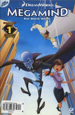 Copertina DREAMWORKS COMICS n.1 - MEGAMIND 1 (m3), GP PUBLISHING