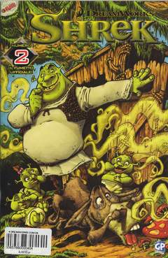 Copertina DREAMWORKS COMICS n.4 - SHREK , GP PUBLISHING
