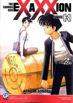 Copertina EXAXXION (m7) n.3 - EXAXXION, GP PUBLISHING