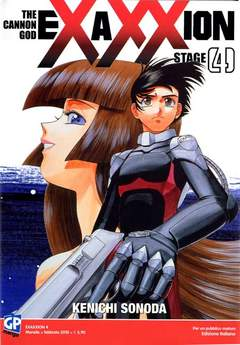 Copertina EXAXXION (m7) n.4 - EXAXXION, GP PUBLISHING