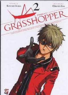 Copertina GRASSHOPPER n.2 - GRASSHOPPER 2, GP PUBLISHING