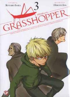 Copertina GRASSHOPPER (m3) n.3 - GRASSHOPPER, GP PUBLISHING