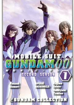 Copertina GUNDAM 00 SECOND SEASON (m4) n.1 - MOBILE SUIT - GUNDAM 00 - Second Season, GP PUBLISHING