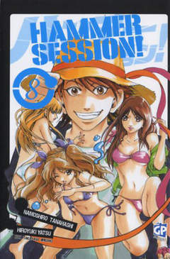 Copertina HAMMER SESSION (m11) n.8 - HAMMER SESSION, GP PUBLISHING