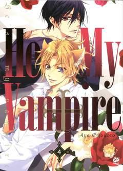 Copertina HE'S MY VAMPIRE (m10) n.4 - HE'S MY VAMPIRE, GP PUBLISHING