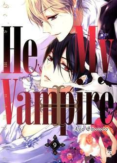 Copertina HE'S MY VAMPIRE (m10) n.9 - HE'S MY VAMPIRE, GP PUBLISHING