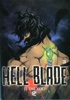 Copertina HELL BLADE (m5) n.3 - HELL BLADE, GP PUBLISHING