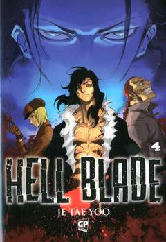 Copertina HELL BLADE (m5) n.4 - HELL BLADE, GP PUBLISHING