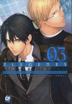 Copertina ILEGENES (m5) n.3 - ILEGENES, GP PUBLISHING