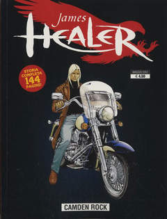 Copertina JAMES HEALER n.1 - CAMDEN ROCK, GP PUBLISHING