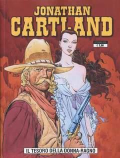 Copertina JONATHAN CARTLAND n.2 - IL TESORO DELLA DONNA-RAGNO, GP PUBLISHING