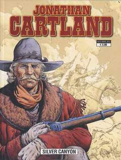 Copertina JONATHAN CARTLAND n.3 - SILVER CANYON, GP PUBLISHING