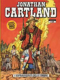 Copertina JONATHAN CARTLAND n.4 - I SOPRAVVISSUTI DELLE OMBRE, GP PUBLISHING