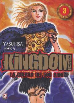 Copertina KINGDOM n.3 - KINGDOM, GP PUBLISHING
