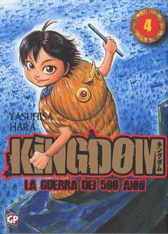Copertina KINGDOM n.4 - KINGDOM, GP PUBLISHING