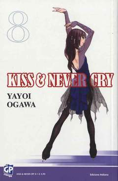 Copertina KISS & NEVER CRY (m11) n.8 - KISS & NEVER CRY, GP PUBLISHING