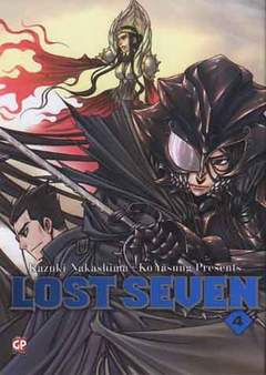Copertina LOST SEVEN (m4) n.4 - LOST SEVEN, GP PUBLISHING
