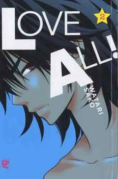 Copertina LOVE ALL (m3) n.2 - LOVE ALL, GP PUBLISHING