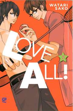 Copertina LOVE ALL (m3) n.3 - LOVE ALL, GP PUBLISHING